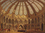 Interior of the Royal Stables
